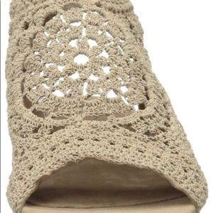 Nina Original Crochet Shoes